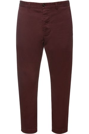 Dsquared2 Men Trousers - Hockney Stretch Cotton Twill Pants