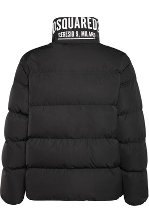 Dsquared2 Men Jackets - Ceresio 9 Print Tech Down Jacket