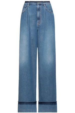 (+) people Women Trousers - DENIM - Denim trousers