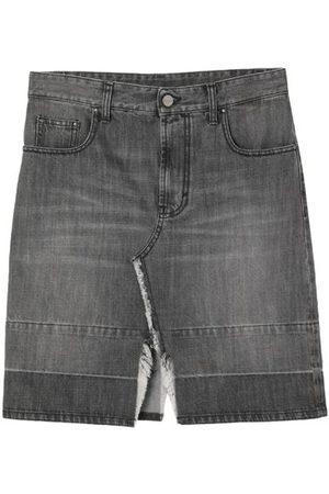 PALM ANGELS Women Denim Skirts - DENIM - Denim skirts