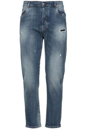 DANIELE ALESSANDRINI Men Trousers - DENIM - Denim trousers