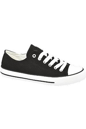 Vty Women Trainers - Ladies Canvas Lace-up Trainers