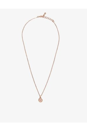 Ted Baker Elvina enamel button necklace
