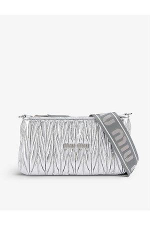 Miu Miu Women Purses & Wallets - Matelassé metallic leather pouch