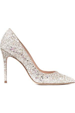 SOPHIA WEBSTER Women Heels - Glitter-detail pointed pumps