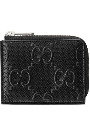 Gucci GG embossed compact wallet