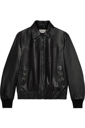 Gucci Horsebit lambskin jacket