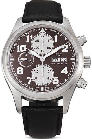 IWC SCHAFFHAUSEN 2009 pre-owned Pilot's Watch Chronograph Antoine de Saint Exupery 1630 Limited 42mm