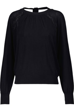 Chloé Women Jumpers - Cotton and silk sweater