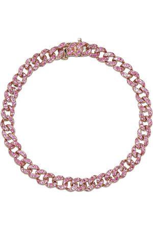 Shay 18kt rose sapphire bracelet
