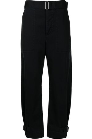 Proenza Schouler White Label Women Trousers - Belted tapered trousers