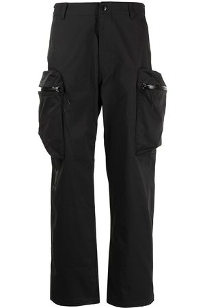 Izzue Cargo-pocket straight-leg trousers