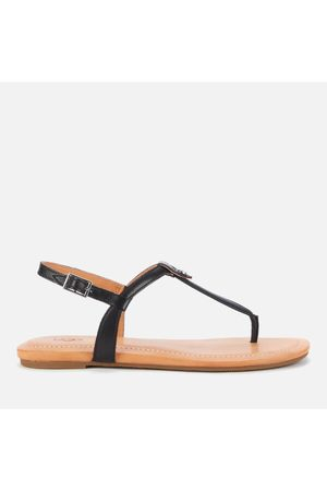 UGG Women Sandals - Women's Madeena Leather Toe Post Sandals