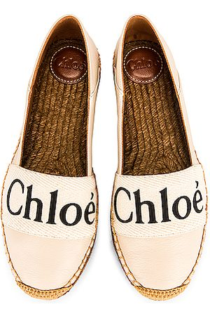 Chloé Woody Espadrille Flats in