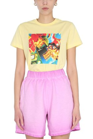 Opening Ceremony Women T-shirts - WOMEN'S YWAA001S21JER0041784 OTHER MATERIALS T-SHIRT