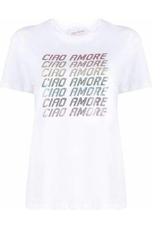GIADA BENINCASA Women T-shirts - WOMEN'S S1825TT1 COTTON T-SHIRT