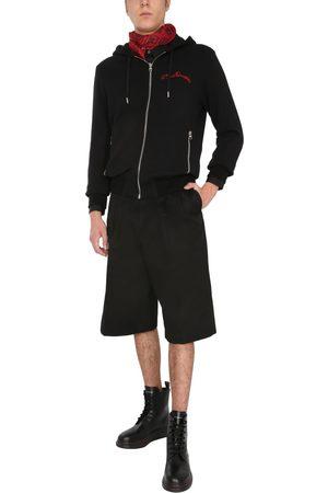 McQ Men Sweatshirts - HOODED SWEATSHIRT WITH ZIP