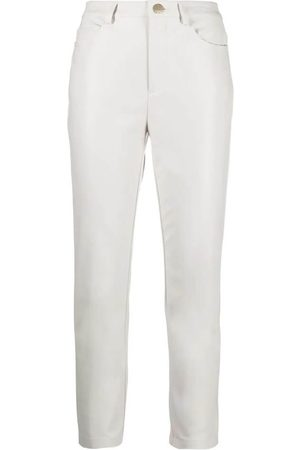 Pinko SUSAN 14 SKINNY FIT FAUX LEATHER TROUSERS