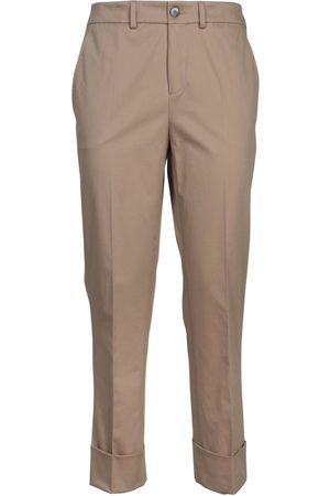 Incotex Women Trousers - WOMEN'S 173680D6253510 BEIGE COTTON PANTS