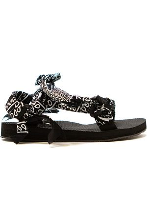 Arizona Love Trekky Chou Tie Up Sandals - Bandana