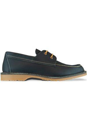 Red Wing Women Shoes - 3332 Wacouta Camp Moc Shoe - Navy
