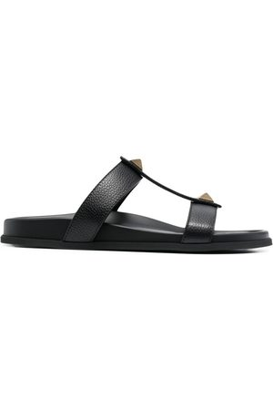 VALENTINO MEN'S VY0S0E43GTW0NO LEATHER SANDALS