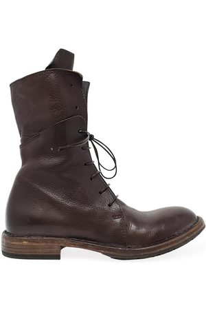 Moma Women Boots - Leather Mid Calf Boot
