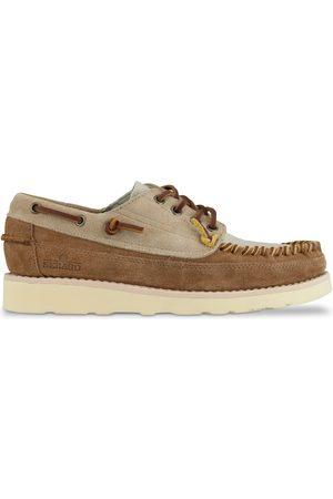 SEBAGO Women Shoes - Campsides Cayuga Shoes - Camel/Papyrus/Cognac