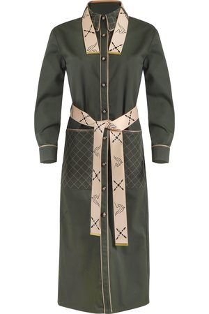 THALÈ BLANC Women Coats - BEVERLY QUILTED COAT DRESS