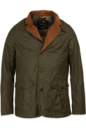 Barbour Women Outdoor Jackets - Lightweight Sander Wax Jacket - Archive Olive