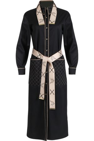 THALÈ BLANC BEVERLY QUILTED COAT DRESS