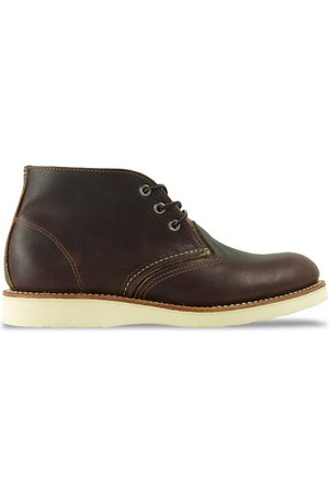 Red Wing Women Boots - 3141 Classic Leather Chukka Boot -Briar Oil Slick
