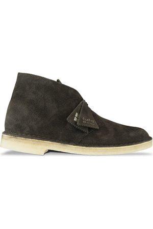Clarks Women Boots - New Desert Boot - Chocolate Suede