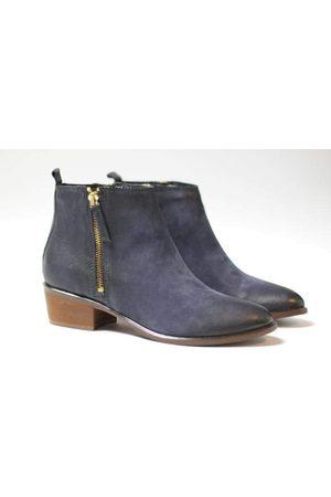 Cara Women Boots - Navy Saluki Boot