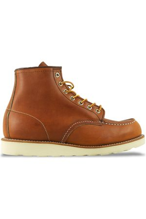 """Red Wing 875 6"""" Moc Toe Leather Boot - Oro Legacy (Tan)"""