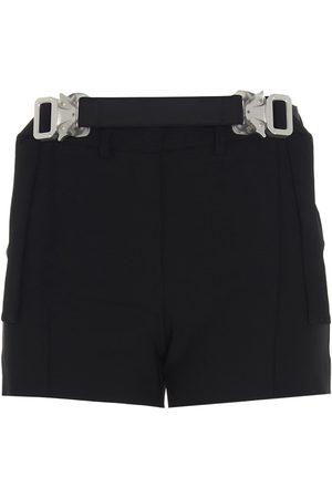 1017 ALYX 9SM Women Shorts - WOMEN'S AAWSO0040FA01BLK0001 WOOL SHORTS