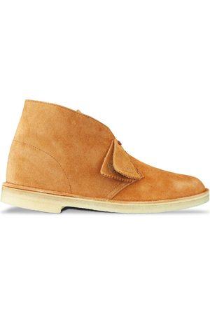 Clarks Women Boots - New Desert Boot - Ginger Suede