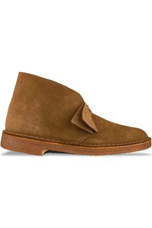 Clarks Women Boots - New Desert Boot - Cola Suede
