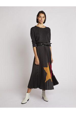 Berenice Star Pleated Skirt