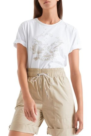 Marc Cain Women Sports Shorts - Sports Soft Sand Shorts QS 83.04 W39 606
