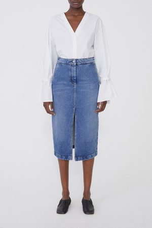 Dagmar Women Denim Skirts - Demi Denim Skirt - medium