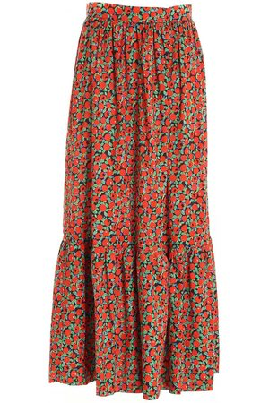 L'Autre Chose Women Printed Skirts - PRINTED SKIRT TOMATOES LAUTRECHOSE B2540553023 F400