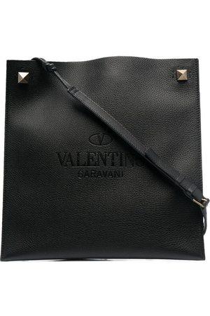 VALENTINO Men Purses & Wallets - MEN'S VY0B0A81ZBT0NO LEATHER MESSENGER BAG
