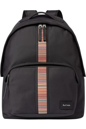 Paul Smith Canvas 'Signature Stripe' Backpack