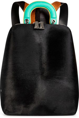 THALÈ BLANC Women Purses & Wallets - Racer Haircalf: Women's Designer Backpack in Leather