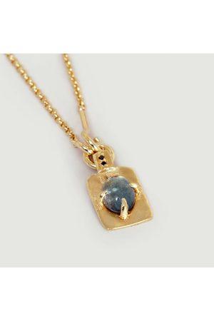 Monsieur Oscar Tourmaline Necklace Silver-gilt
