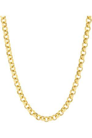 Marissa Diamonds Women Necklaces - 18 Inch 4.0MM Yellow Rolo Chain
