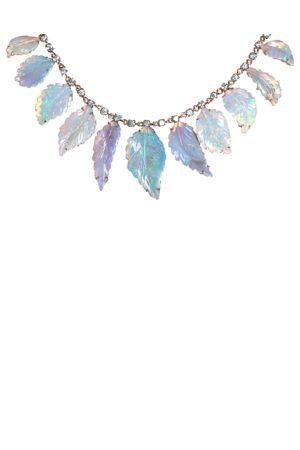 IRENE NEUWIRTH JEWELRY Women Necklaces - Carved Opal Leaf Necklace