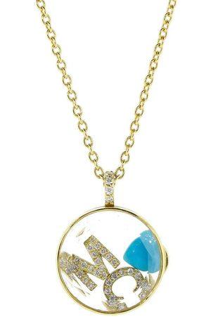 Moritz Glik Women Necklaces - M C Initial Diamond Shaker Necklace
