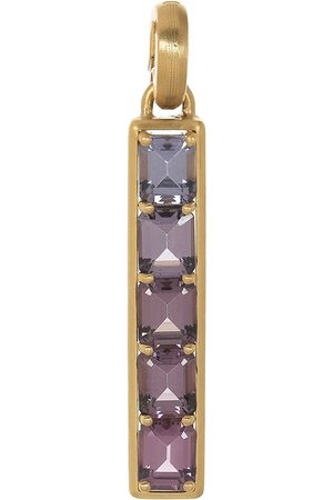Leigh Maxwell Women Necklaces - Lavender Spinel Bar Pendant